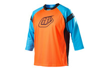 Troy Lee Designs Ruckus Downhill Tricot logo oranje